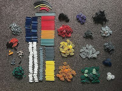 Knex K'nex Large Collection Over 800 Pieces