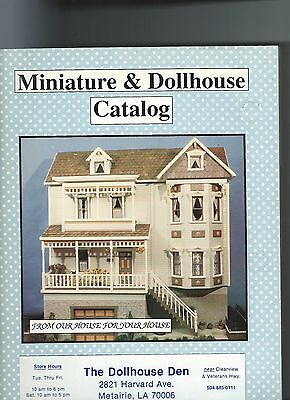 Miniature & Dollhouse Catalog.......Complete Guide..