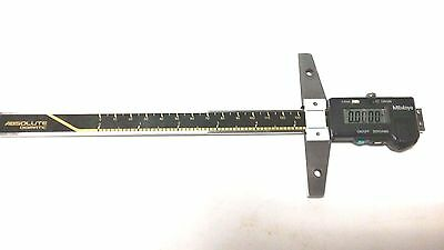 "Used Mitutoyo 571-212-10 Absolute Digimatic Depth Gage - Model VDS-8"" DC"