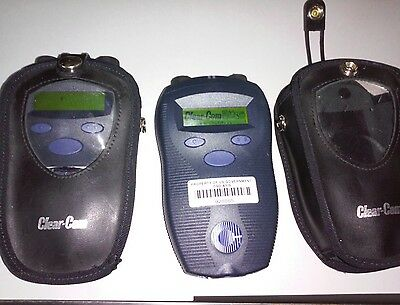 2 or 4 CLEAR-COM CEL-BP Belt Pack's 1.91-1.93 Ghz (4 available in 2 lots of 2)