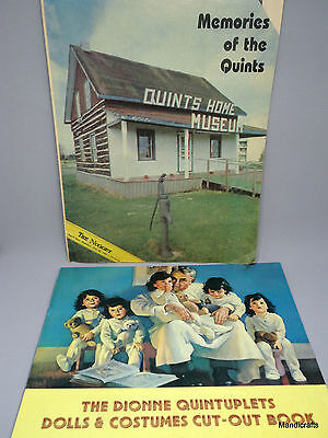 Dionne Quintuplets Repro Paper Dolls Clothes 1984 and Nugget News Magazine Cda