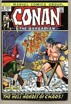 Conan The Barbarian #15-1972-fn/vf Elric / Barry Windsor-Smith