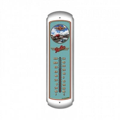 Air Races Thermometer - Hand Made in the USA with American Steel