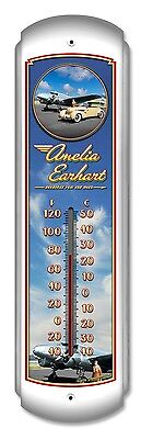 Amelia Earhart Thermometer - Hand Made in the USA with American Steel
