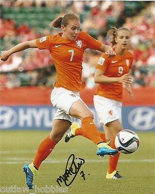 Netherland World Cup Manon Melis Autographed Signed 8x10 Photo COA D