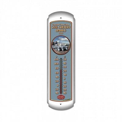 20th Century Limited Thermometer - Hand Made in the USA with American Steel