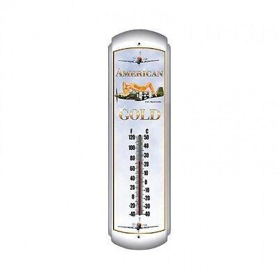 American Gold Thermometer - Hand Made in the USA with American Steel