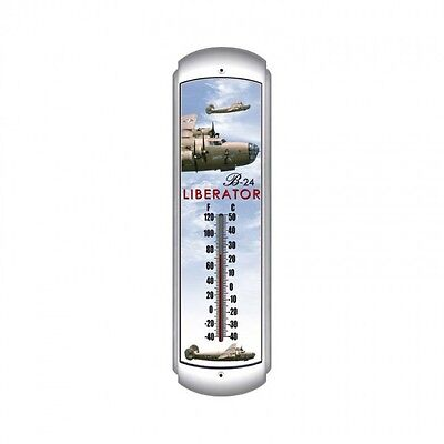 B-24 Liberator Thermometer - Hand Made in the USA with American Steel