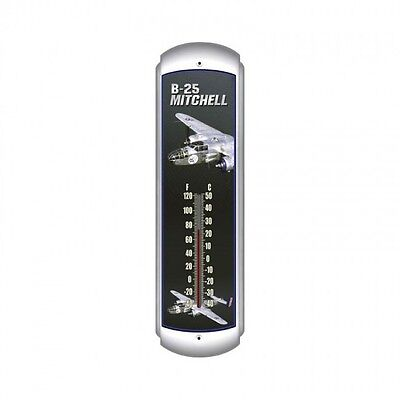 B-25 Mitchell Thermometer - Hand Made in the USA with American Steel