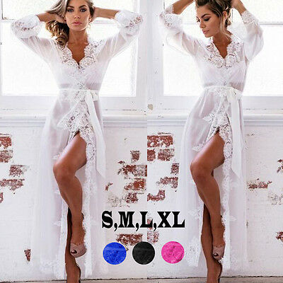 Women's Sexy-Lingerie Nightwear Sleepwear Babydoll Lace Underwear G-string Dress