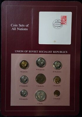 USSR Soviet Russia 1979 Proof Coin Set Ex Coin Sets of All Nations
