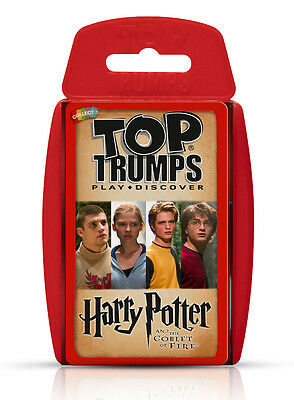 Harry Potter and the Goblet of Fire Top Trumps Card Game - Brand New