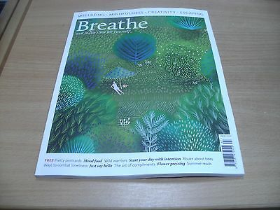 Breathe magazine #7 2017 Wellbeing Mindfulness Creativeness Escaping & more