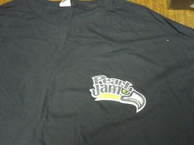 Pearl Jam Seattle Seahawks Original 12th Man T-Shirt Extra Large New old Stock
