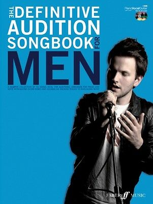 Definitive Audition Songbook for Men (Pvg/2cd's) (Paperback), 9780571532339