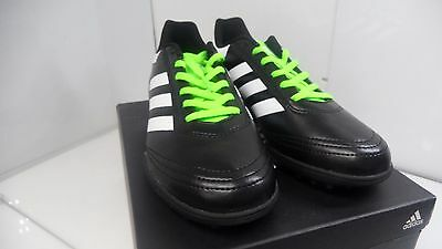 505d649b24ba ADIDAS MEN S GOLETTO VI TF Soccer Cleats Size 11.5 US Black Green ...