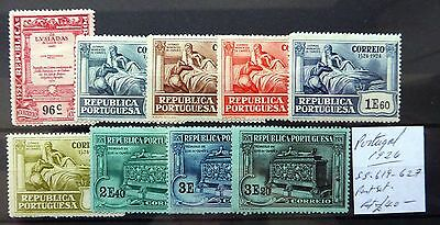 PORTUGAL 1924 Part Set As Described Mounted Mint NB1890