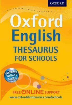 Oxford English Thesaurus for Schools by Oxford Dictionaries 9780192757012