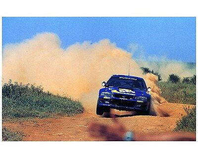 1998 Subaru Impreza WRX 555 STi WRC World Rally Champion Factory Photo ca7472