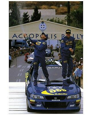 1998 Subaru Impreza WRX 555 STi WRC World Rally Champion Factory Photo ca7475