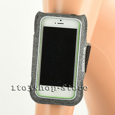 Incase Sports Active Armband w/Key Pocket for iPhone 7 Plus iPhone 6s Plus Gray