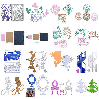 Metal Cutting Dies Stencils For DIY Scrapbooking Photo Album Paper Card Gift New