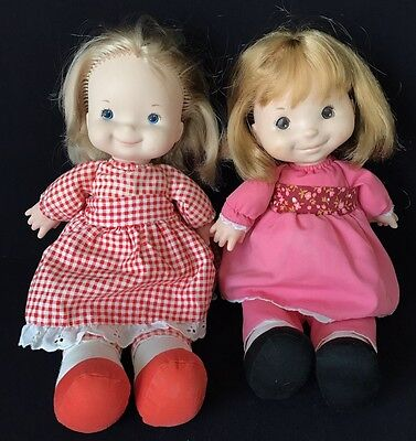 Pair 1970'S Fisher Price Lap Sitters – Mary & Natalie