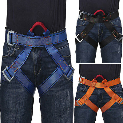 Harness Seat Belts Safety Rock Climbing Height Rappelling Equipment Fall Arrest
