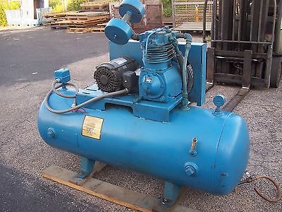 Compair Kellogg 5 Hp 2 Stage Reciprocating Air Compressor 335Tv  17.2 Cfm 175Psi