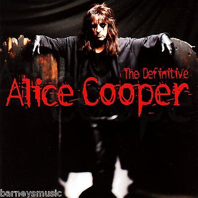 Alice Cooper ( New Sealed Cd ) The Definitive Very Best Of / Greatest Hits