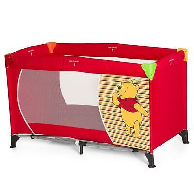 Hauck Disney Baby Dream'n Play Travel Cot (Pooh Spring Red) ON SALE! WAS£75