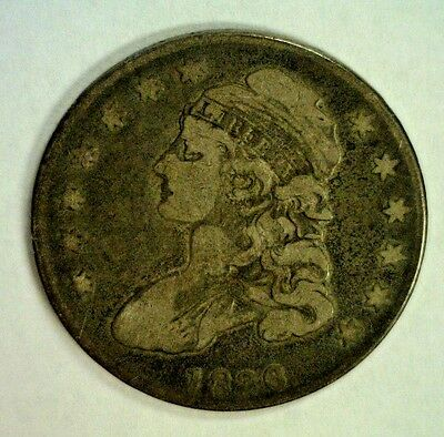 1836 Capped Bust Silver Half Vg   Reduced 11/29/18    (3875)