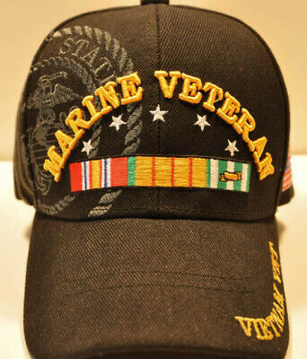 ace9bbbd8 NEW! USMC US Marine Disabled Veteran Usmc Cap Hat Black - $9.95 ...