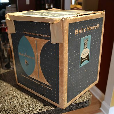 Bell & Howell 255A Autoload 8mm Movie In Box Projector Nice