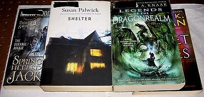 Lot of 5 Paperback Fantasy Books by Various Authors    (D180)