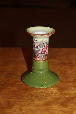 ROYAL BAYREUTH Candlestick - Victorian Men Design
