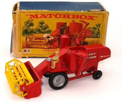 Lesney Major Pack No. 5 Combine Harvester - Mint Boxed