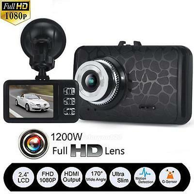 Ultra Thin 1080P HD Car DVR Camera Dash Cam Video Recorder Night Vision G-sensor