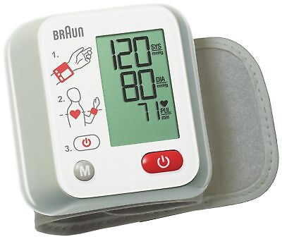Braun Vitascan 1 Wrist Blood Pressure Monitor. From the Argos Shop on ebay
