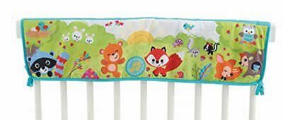 Fisher-Price Woodland Friends Twinkling Lights Crib Rail Soother New