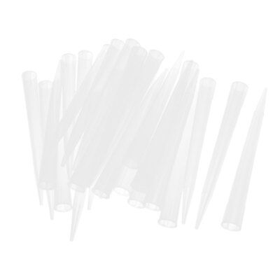 100PCS Plastic Tips Clear White 10000ul for Pipette Pipetter Pipettor