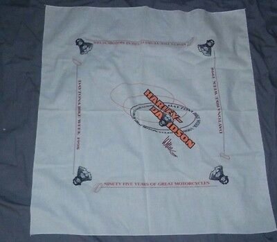 Harley Davidson Daytona Bike Week 1998 Handkerchief
