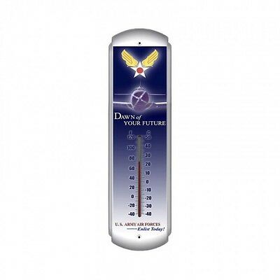 Dawn of Your Future Thermometer - Hand Made in the USA with American Steel