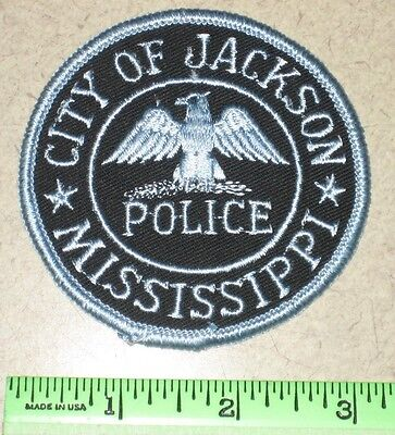 Jackson MS State of Mississippi Police Patch - Capital City - Hinds County