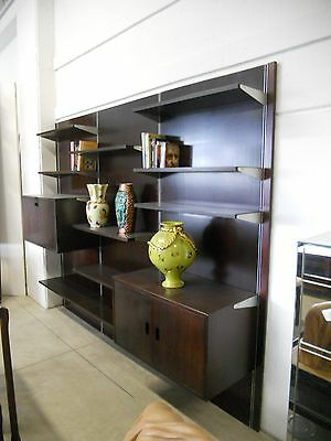 -Libreria in mogano Stilwood Modena - italian bookshelf