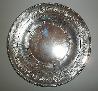 Antique Sterling Silver Plate Webster Company