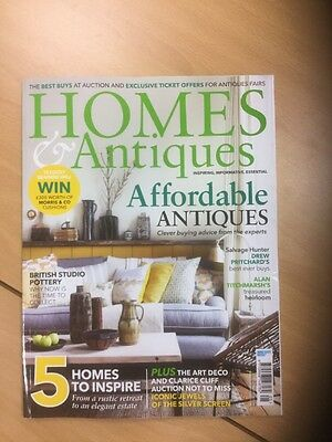 Homes and Antiques house/lifestyle/interiors magazine, May 2016
