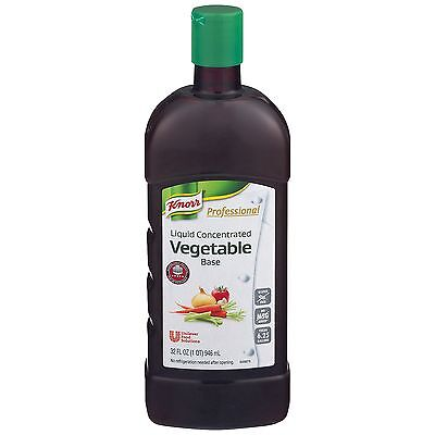 Knorr Professional Liquid Concentrated Base for Restaurants, Vegetable, 32 Ou...