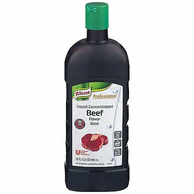 Knorr Professional Liquid Concentrated Base for Restaurants, Beef, 32 Ounces
