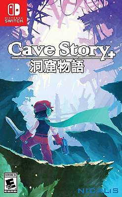 Cave Story+ (Launch Edition) Bonus CD with Booklet Nintendo Switch Game New